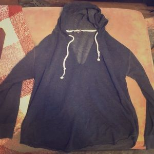 Victoria's Secret Angel Wings Distressed Hoodie